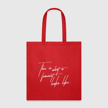 This is a feminist - Tote Bag