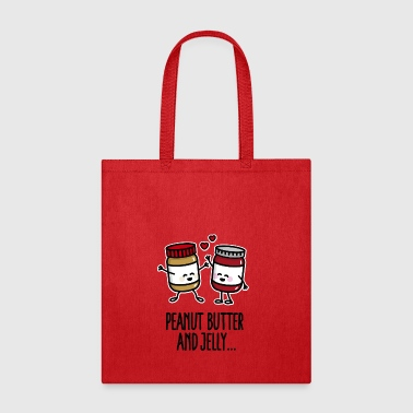 Peanut butter and jelly - Tote Bag