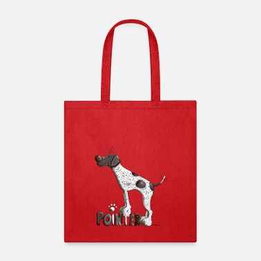 Pointer Happy German Pointer - Dog - Dogs - Fun - Gift - Tote Bag
