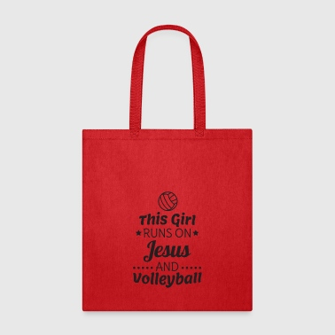 Volleyball Shirt, Girls Volleyball Gift - Tote Bag