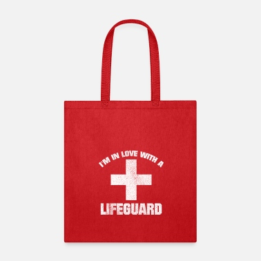 Baywatch IN LOVE WITH LIFEGUARD VINTAGE LOOK BAYWATCH - Tote Bag