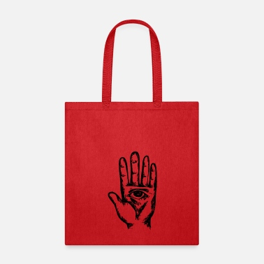Esoteric all seeing eye hand esoteric spiritual boohoo gift - Tote Bag