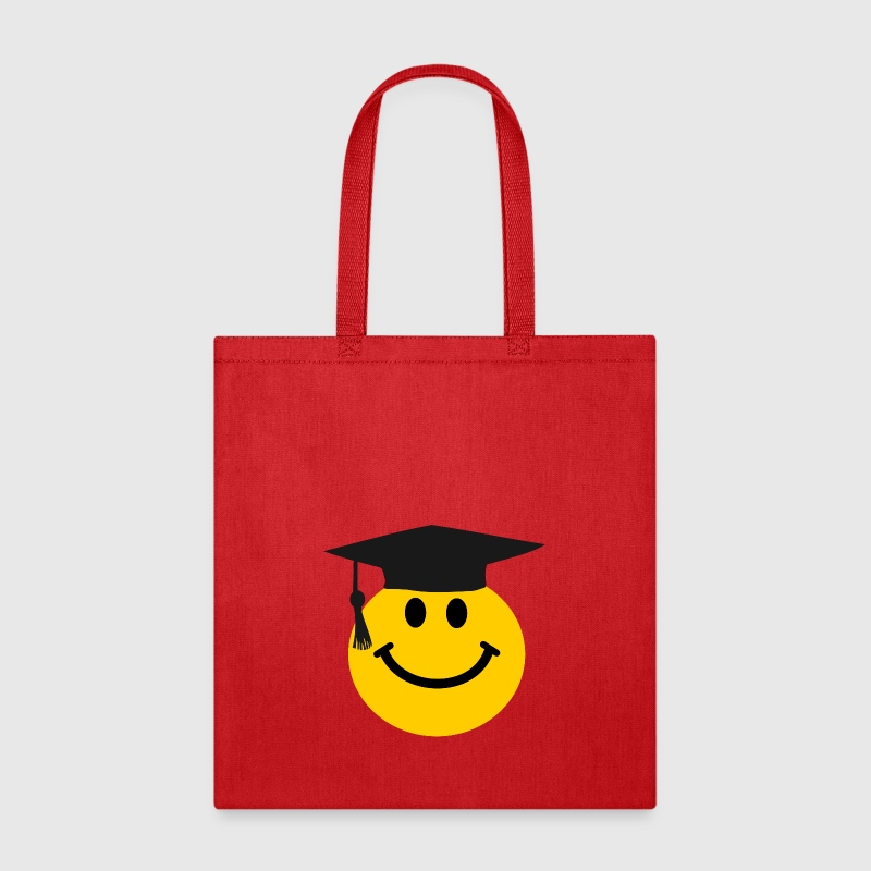 Graduate Smiley face - Tote Bag