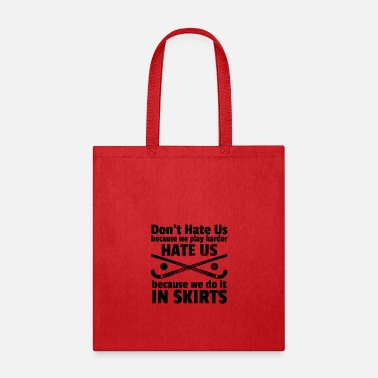 Skirt Field Hockey Play in Skirts - Tote Bag