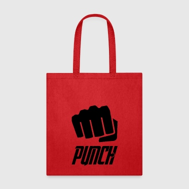 Punch punch blak - Tote Bag