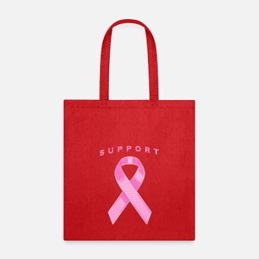 Pink Awareness Ribbon - Tote Bag