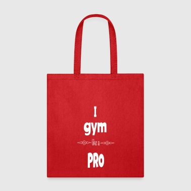 Funny Gym Cool Gym Quote - Tote Bag