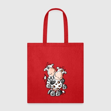 Cuddly Cows - Cow - Tote Bag