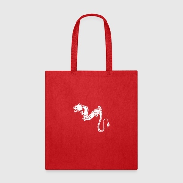 Stencil Dragon Stencils - Tote Bag
