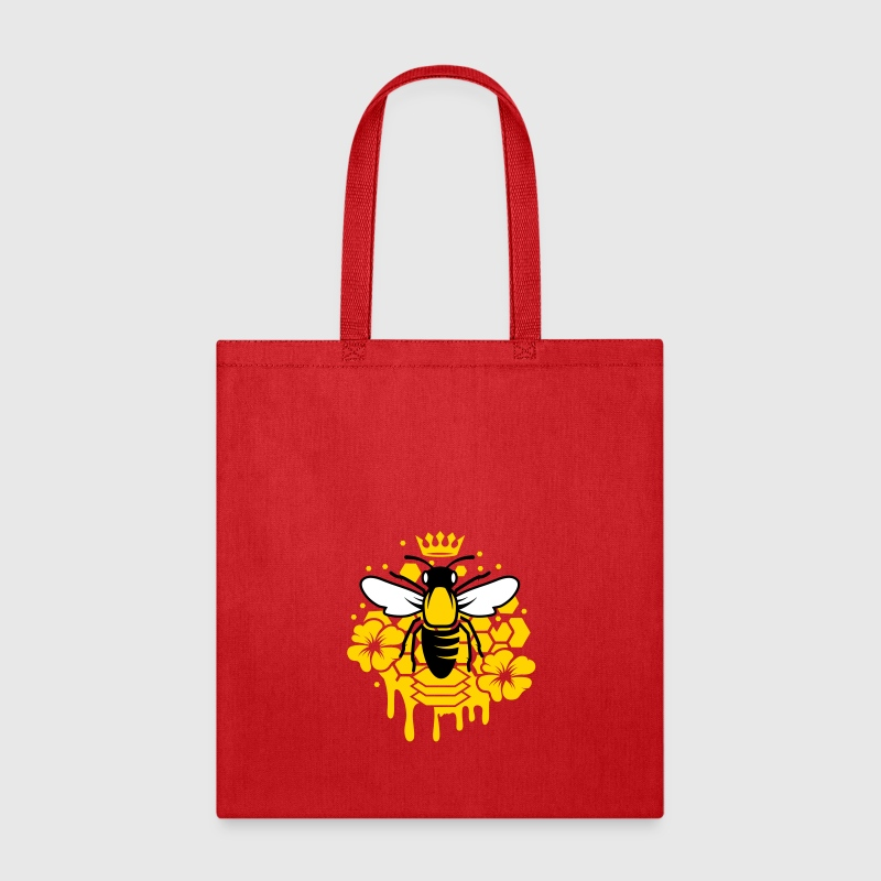 A bee with a crown - Tote Bag