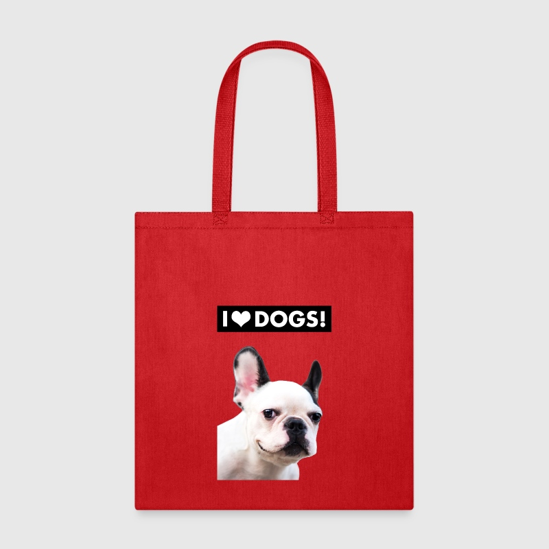 I HEART DOGS - Tote Bag