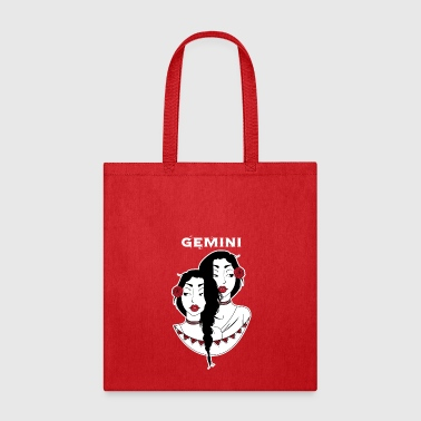 Zodiac Signs - Gemini - Tote Bag