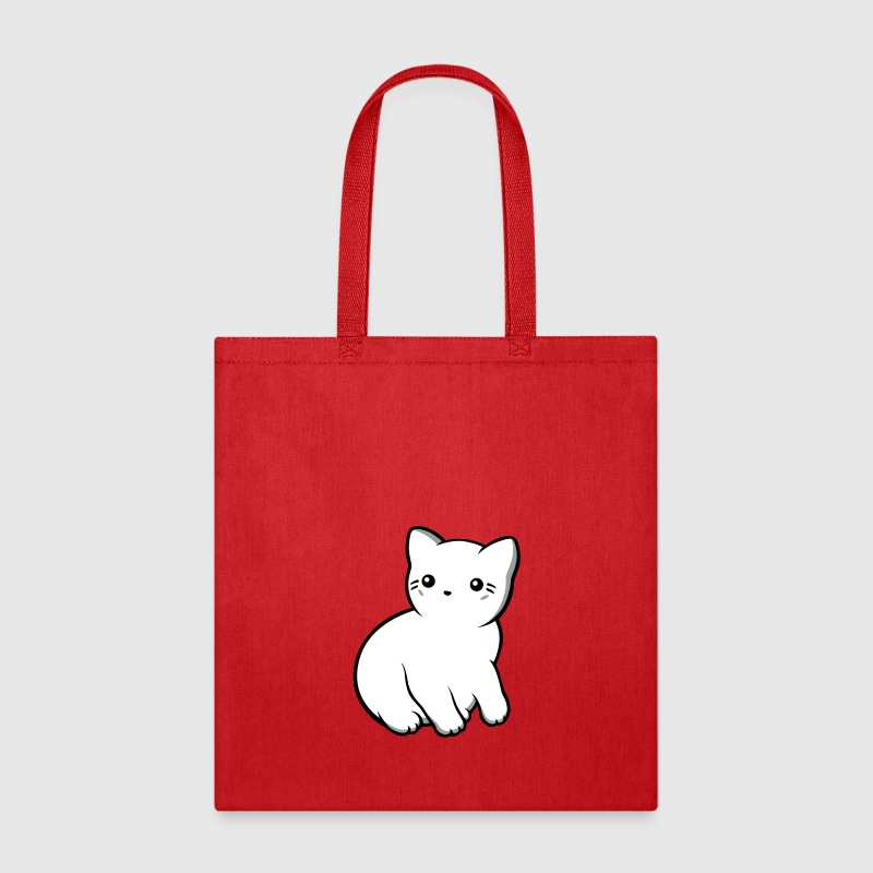 Kitten profile opaque - Tote Bag