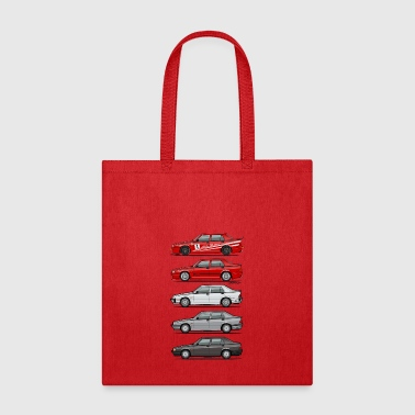 Stack of Alfa 75 Milano Tipo 161 - Tote Bag