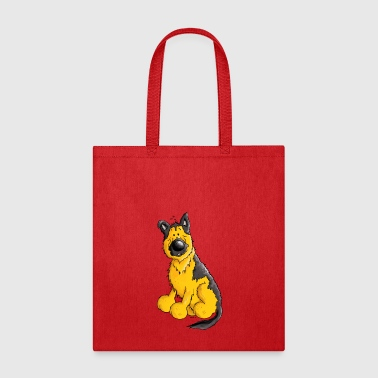 German Shepherd Dog - Breed - Dogs - Tote Bag