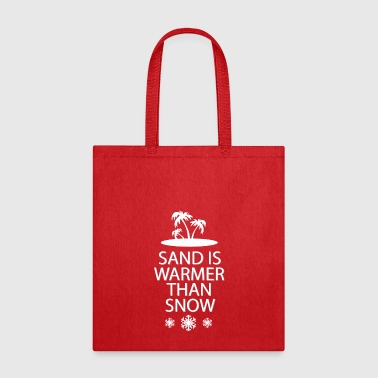 Sand and snow - Tote Bag