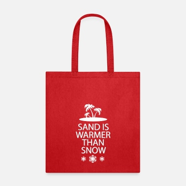 Sand Sand and snow - Tote Bag