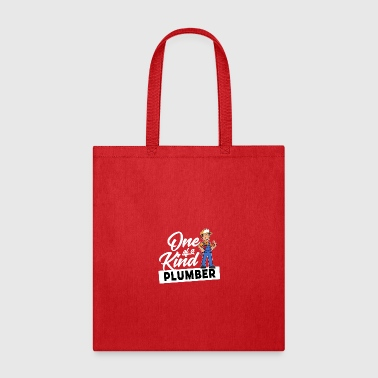 Proud Plumber - One of a kind - Tote Bag