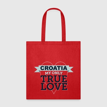 Croatia My Only True Love 3 - Tote Bag