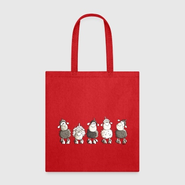 Funny Sheep  - Tote Bag