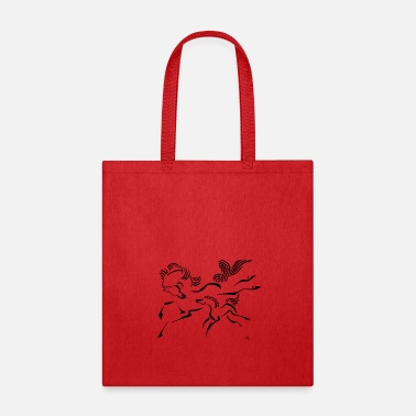 Foal Horse and Foal - Tote Bag