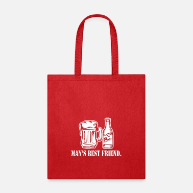 Mans Best Friend Mans Best Friend - Tote Bag