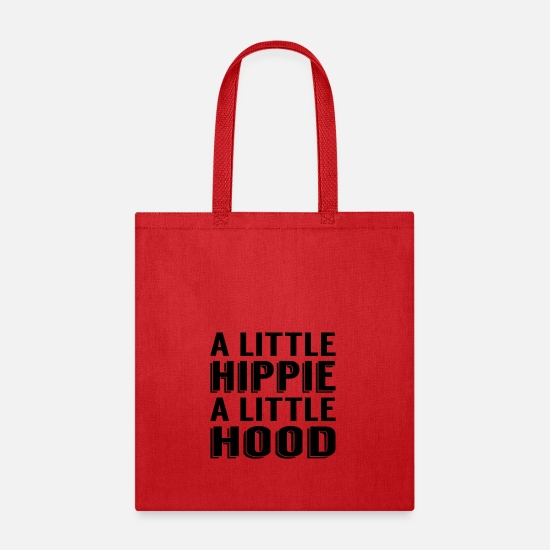Little Bags & Backpacks - A Little Hippie A Little Hood - Tote Bag red
