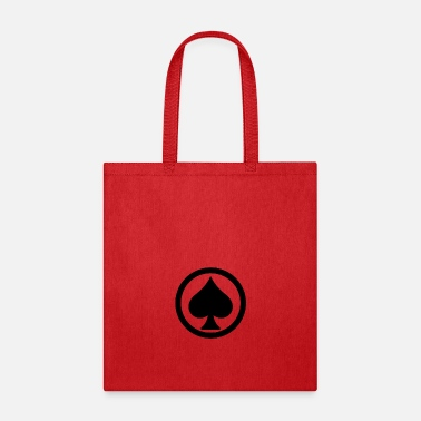 Pik Pik Spade Cards Cardgame Mountaintop Peak Gift - Tote Bag