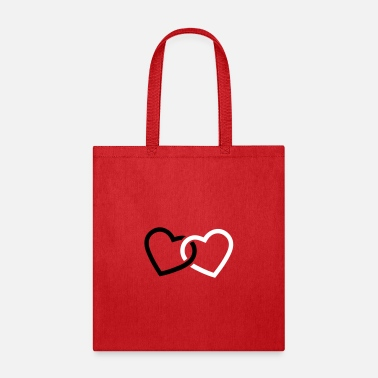 Two Hearts Two hearts - Tote Bag