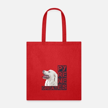 Italy Great Pyrenees - Tote Bag