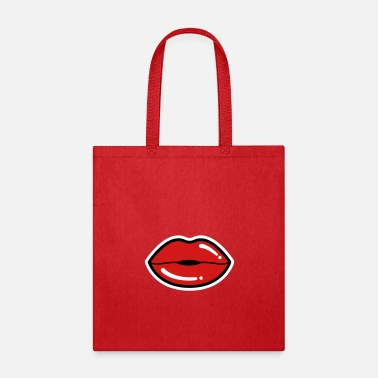 Sexy Lips Sexy Lips, Red Lips, Lipstick - Tote Bag