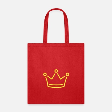 Vip Monarch Yellow crown king corona vip vector image - Tote Bag