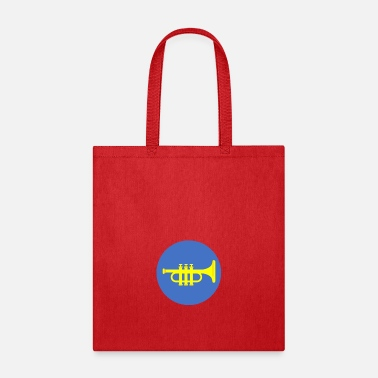 Blasen trumpet icon - Tote Bag