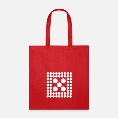 Quadrat Pattern - Shape - Form - Circle - Quadrat - 2 - Tote Bag