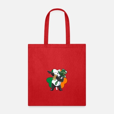 Patrick Funny St Patricks Day Leprechaun Party gift Paddy - Tote Bag