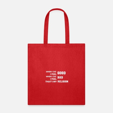 Religion No Religion - Tote Bag