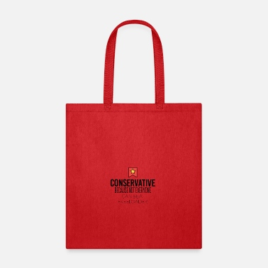 Conservation Conservative - Tote Bag