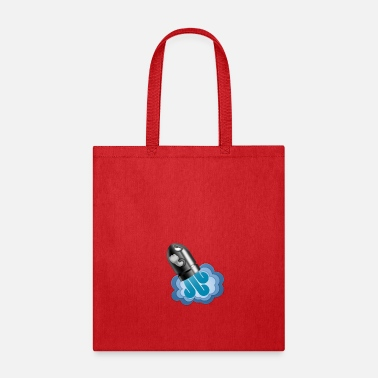 Graphic Art Rocket Cannon Graphic Art - Tote Bag