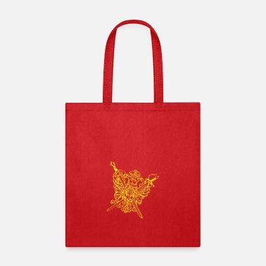 Crest the crest - Tote Bag