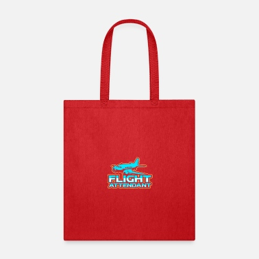 Flight Flight Attendant Stewardess Airline Travel Job - Tote Bag