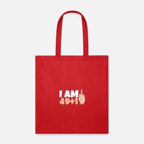 Tote BagFunny T Shirt 50th Birthday Gift Ideas Man Tee