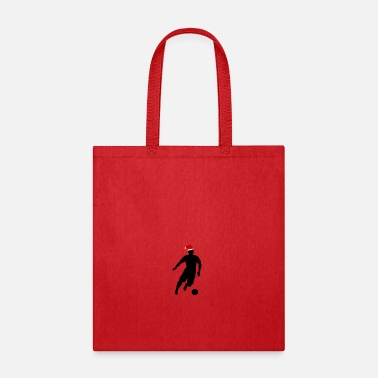 Outfielder Christmas football striker - Tote Bag