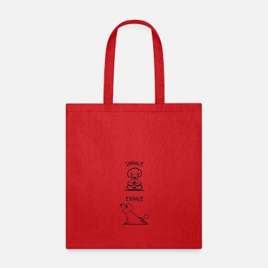 Buddhism Inhale Exhale - Tote Bag