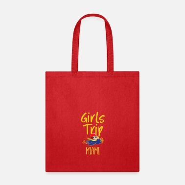 Collections Girls Trip Holidays Vacation Miami Trip - Tote Bag