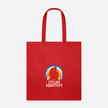 Foot Feeling Squatchy Sasquatch Lover Apparel - Tote Bag