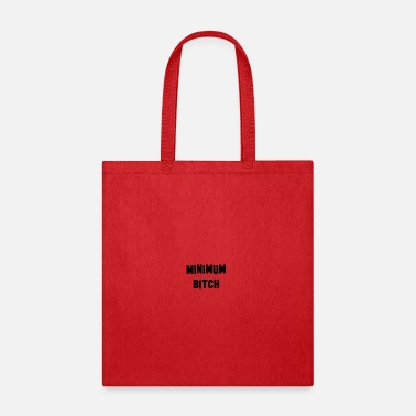Minimum Minimum Black - Tote Bag