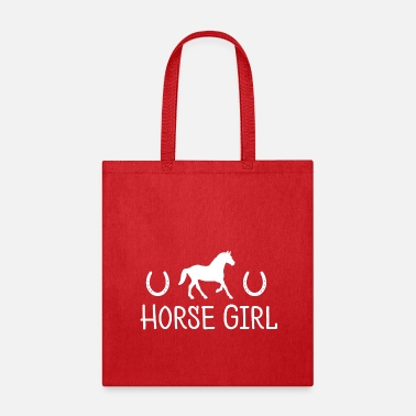 Horse Girl Women Tee Horseshoe Gift - Tote Bag
