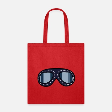 Aviation Aviator Glasses - Tote Bag