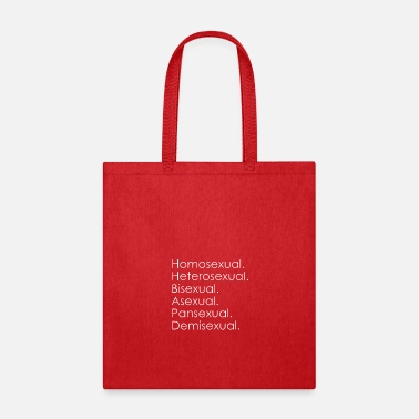 Sexuality Sexual Orientations - Tote Bag