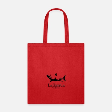 Canary Islands LaSanta - Surfwear - Lanzarote - Surfer - Shark - Tote Bag